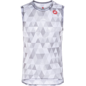 Castelli Pro Mesh Sleeveless Baselayer Jersey Herren multicolor grey